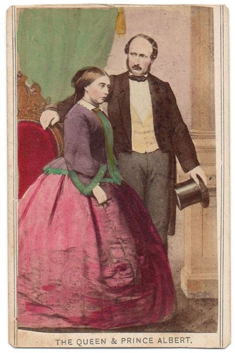 Queen Victoria and Prince Albert together