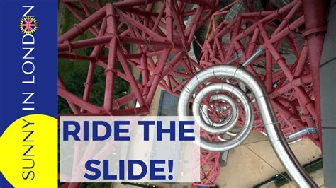 ArcelorMittal Orbit Slide Olympic Park Review - YouTube