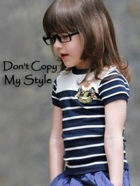 Latest Don't Copy My Style Pictures For Boys And Girls