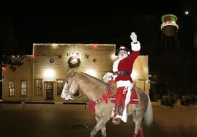Enjoy the Holidays in Gruene - Featured Events