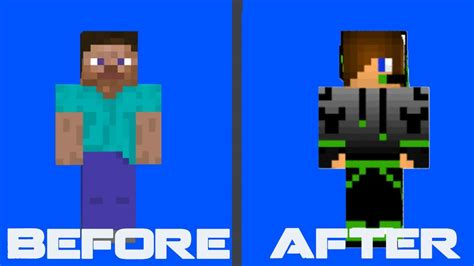 How to: Add Minecraft Skin for Mineshafter 2014 - YouTube