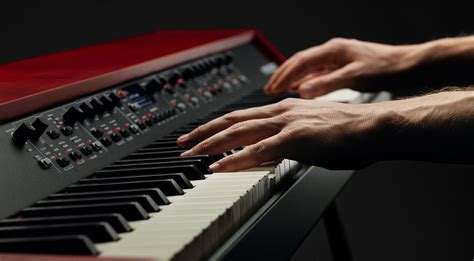 Nord Grand: huge weighted Kawai hammer action piano with a