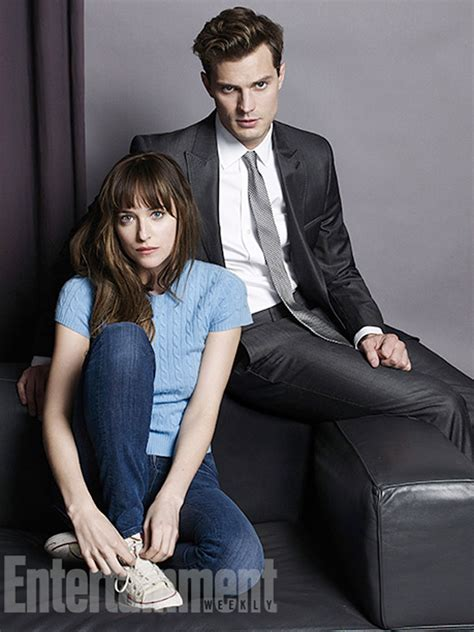 First Look at 'Fifty Shades of Grey' Leads as Film Pushed