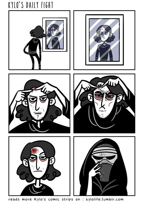 """""""Kylo's Life"""" is a Comic Strip About The Galaxy's"""