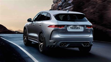 2019 Jaguar F-Pace SVR (Images, price, performance and