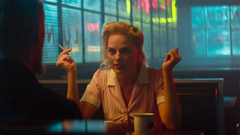 """Margot Robbie is Our New Favorite Femme Fatal in """"Terminal"""