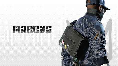 Marcus Holloway Watch Dogs 2 Wallpapers | HD Wallpapers