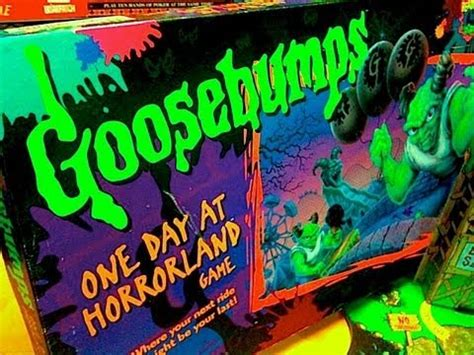 Goosebumps HorrorLand Board game Toy Review by Mike Mozart