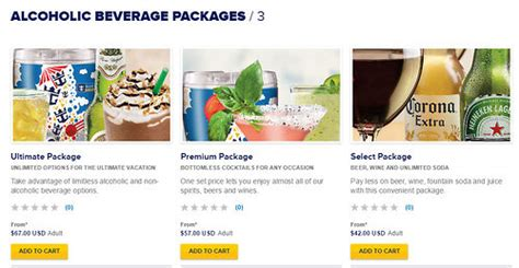 Royal Caribbean adjusts unlimited drink packages pricing