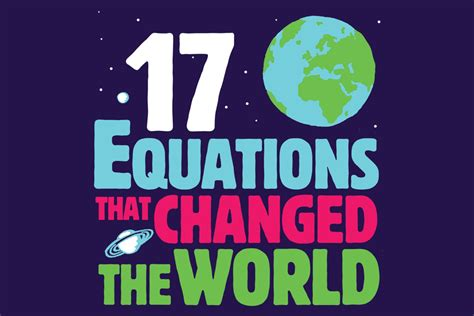 Bok: «17 Equations That Changed the World» | AstroMaria