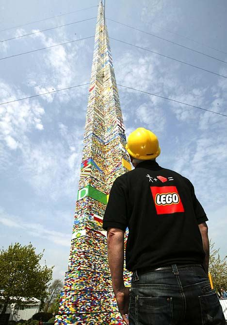 World's Tallest LEGO Tower Has Been Built | Gearfuse