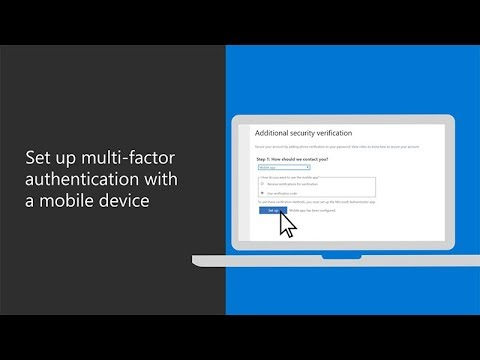 General Setup for Multi-Factor Authentication