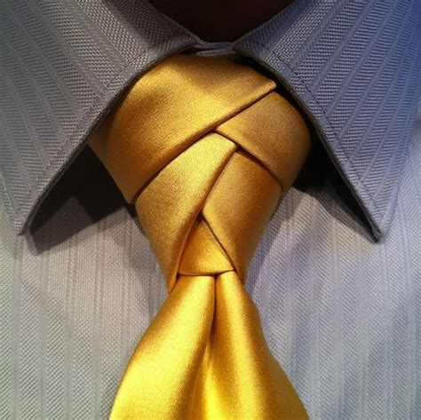 Three Exotic Necktie Knots to Try: The Eldredge Knot, The