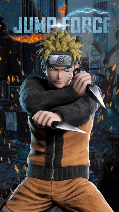 Jump Force Naruto Wallpapers   Cat with Monocle
