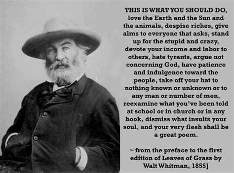 Inspiration for the Day: Walt Whitman's Eulogy   Wendy
