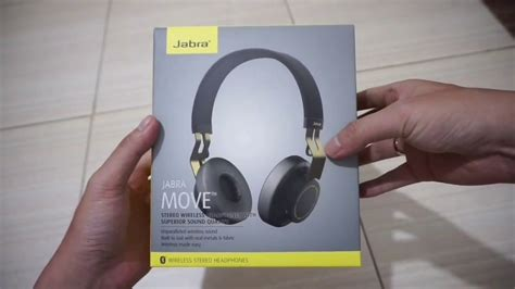 JABRA MOVE UNBOXING & REVIEW INDONESIA - YouTube