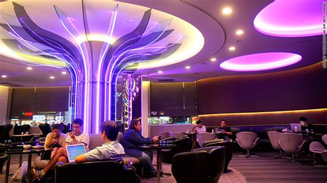 EVA Air - Best business class airline lounges around the