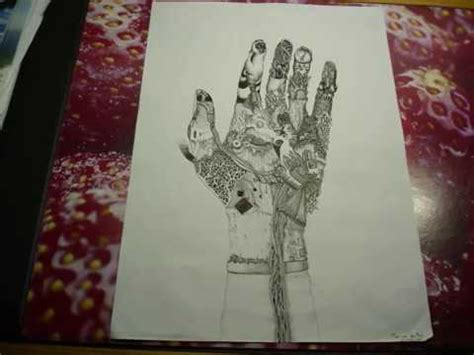 """Surrealistic Speed Drawing: """"Hand"""" - YouTube"""