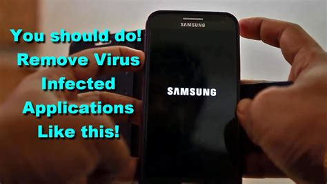 How to Remove Virus Infected applications from Android