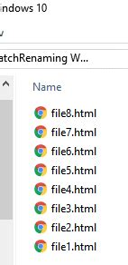 How to Rename One or Multiples Files with Command Prompt