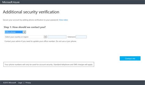 Set up two-step verification - Azure Active Directory