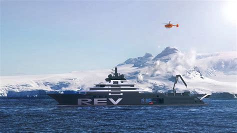 Billionaire Builds World's Largest Yacht to Clean Up Ocean
