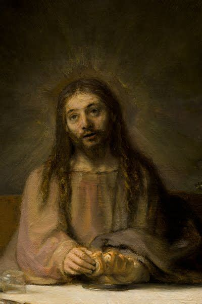 IDLE SPECULATIONS: Rembrandt and the Face of Christ