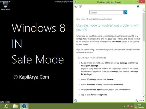 """[How To] Boot Windows 8 Into """"Safe Mode'' From Desktop"""
