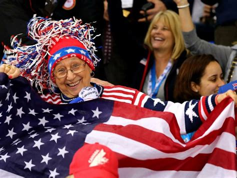 Fans Enjoy The Atmosphere At Sochi 2014   Winter olympics