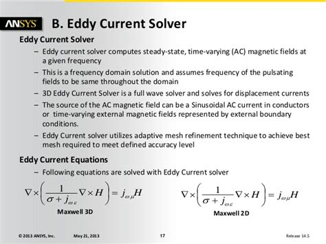 Maxwell v16 l03_static_magnetic_solvers