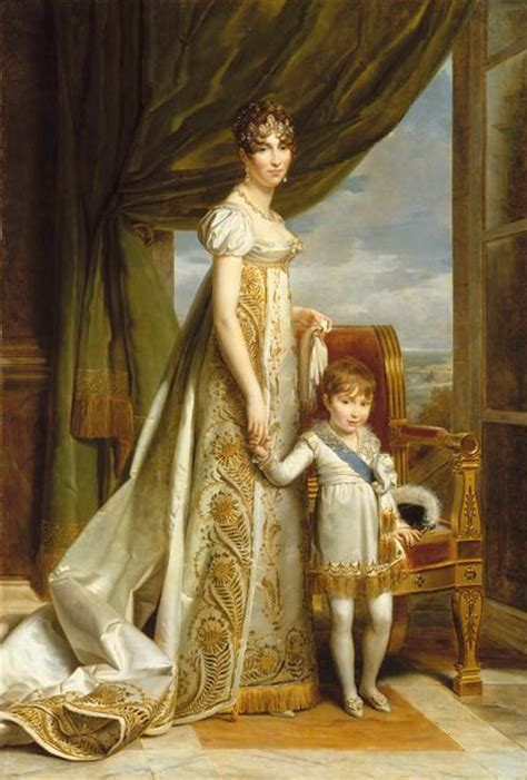1807 Hortense with the Prince Royal of Holland by François