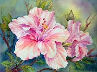 Watercolour Florals - Marianne Broome