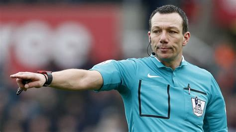 Referee Kevin Friend taken to hospital after passing out