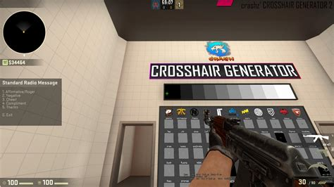 A neat crosshair I've been using (for dot users