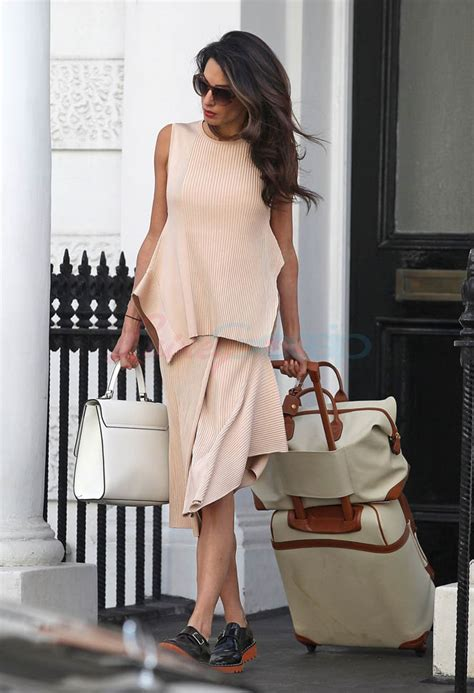 Amal Clooney dressing for the occasion in Vanity Fair
