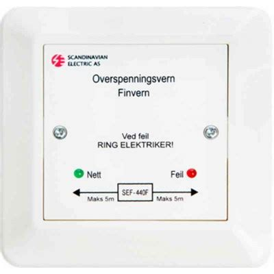 Ahlsell - Finvern for mont i boks T3 - Finvern Micro Matic