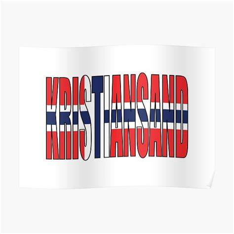 Kristiansand Posters   Redbubble