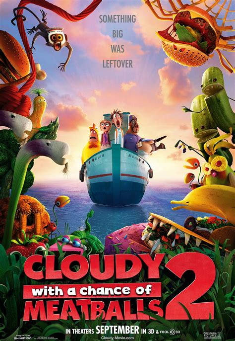 Cloudy With A Chance Of Meatballs 2   Teaser Trailer