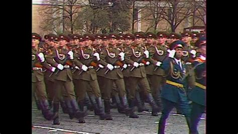 HD Soviet Army Parade, Victory Day 1985 Парад Победы - YouTube