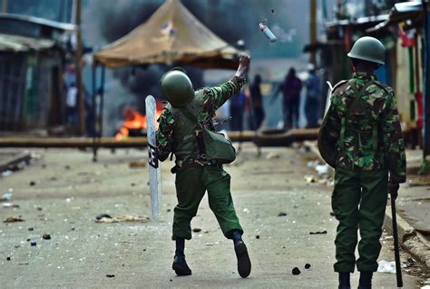 Kenya: Two shot dead by police as opposition protest turns