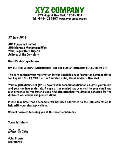 New Business Letter format and Samples   Business letter