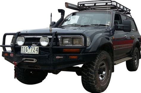 Clearview Towing Mirrors - Toyota Land Cruiser 80 Series