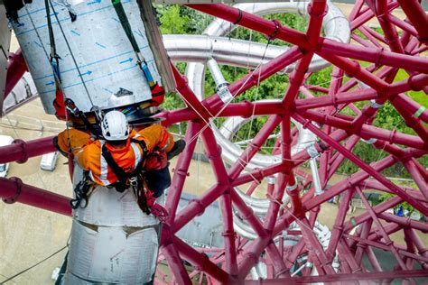 In pictures: the ArcelorMittal Orbit slide is (almost