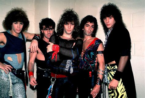 Bon Jovi 80s Hair Band Pictures, Albums & History   80s