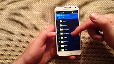 samsung galaxy s5 How To Move or Transfer files photos