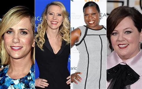 Kristen Wiig, Melissa McCarthy and the Ghostbusters cast