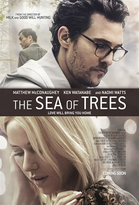 The Sea of Trees (2016) Poster #1 - Trailer Addict