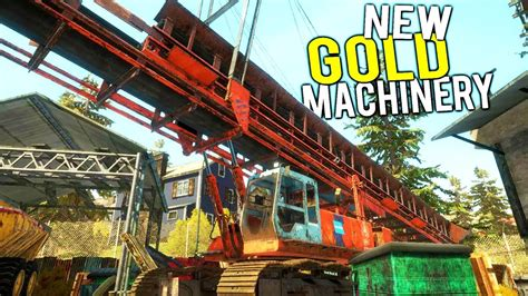 NEW GOLD MINING MACHINERY! GIANT UPDATE + New Drill and