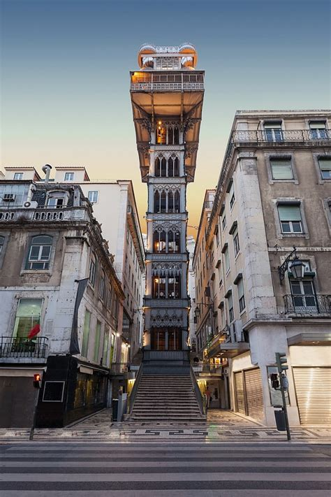 Santa Justa Lift also known as Carmo Lift, About Lisbon