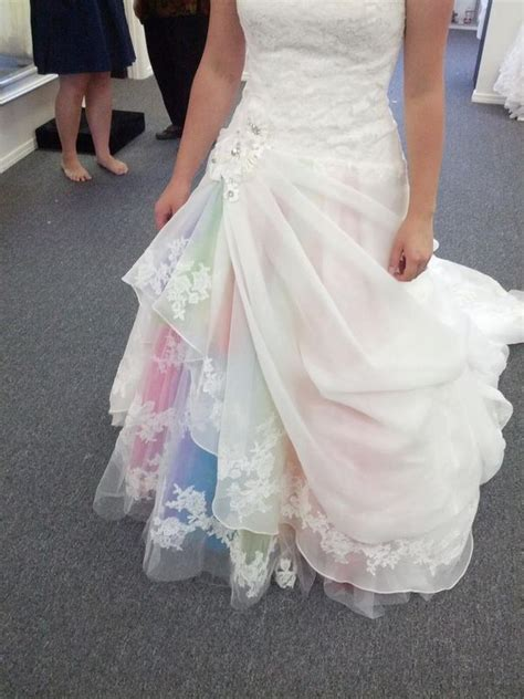 30 Gorgeous Rainbow Colored Dress Designs - Hative